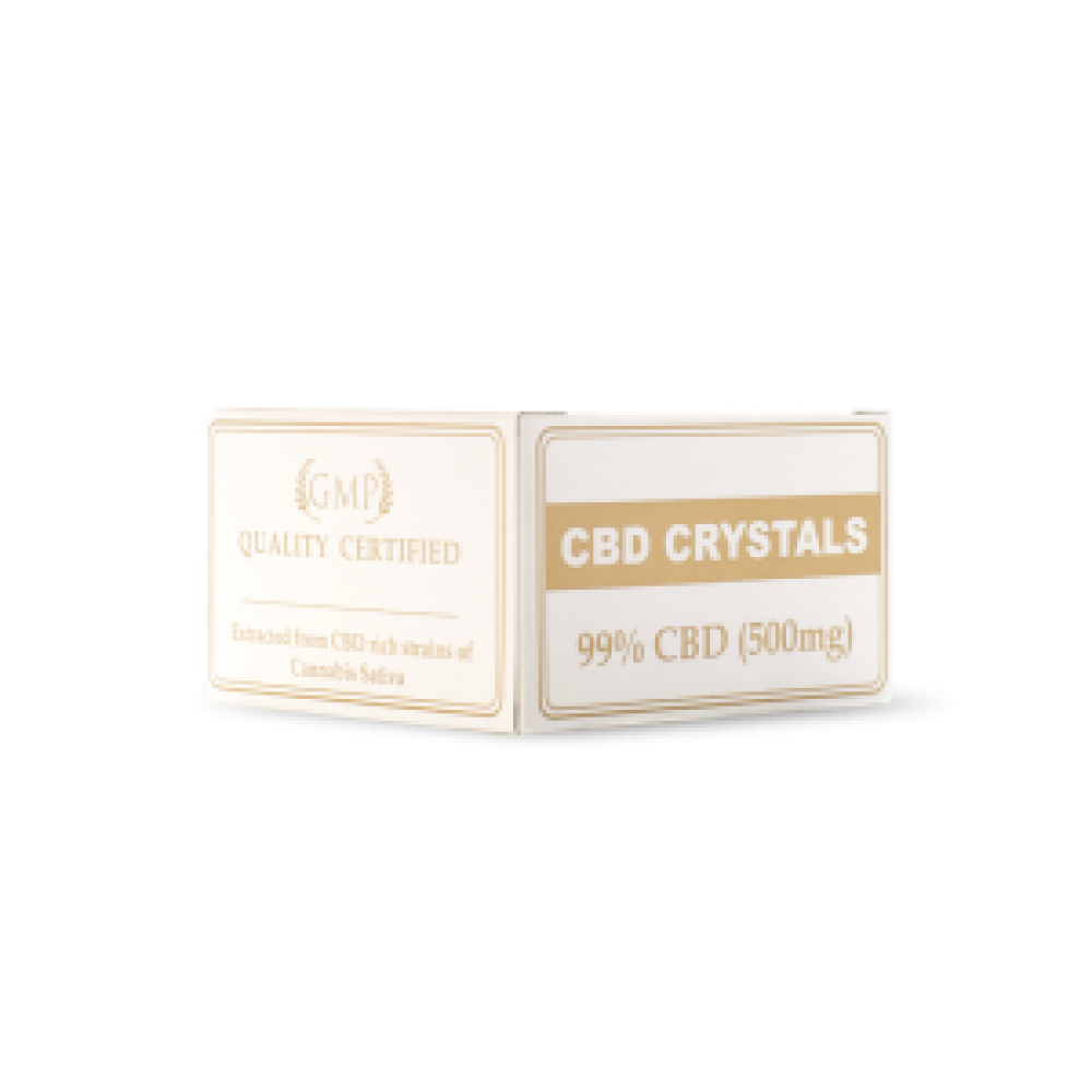 cbd oil cannabis crystals 99% endoca medicann