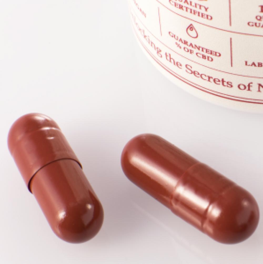cbd oil 1500mg capsules cbd & cbda endoca medicann