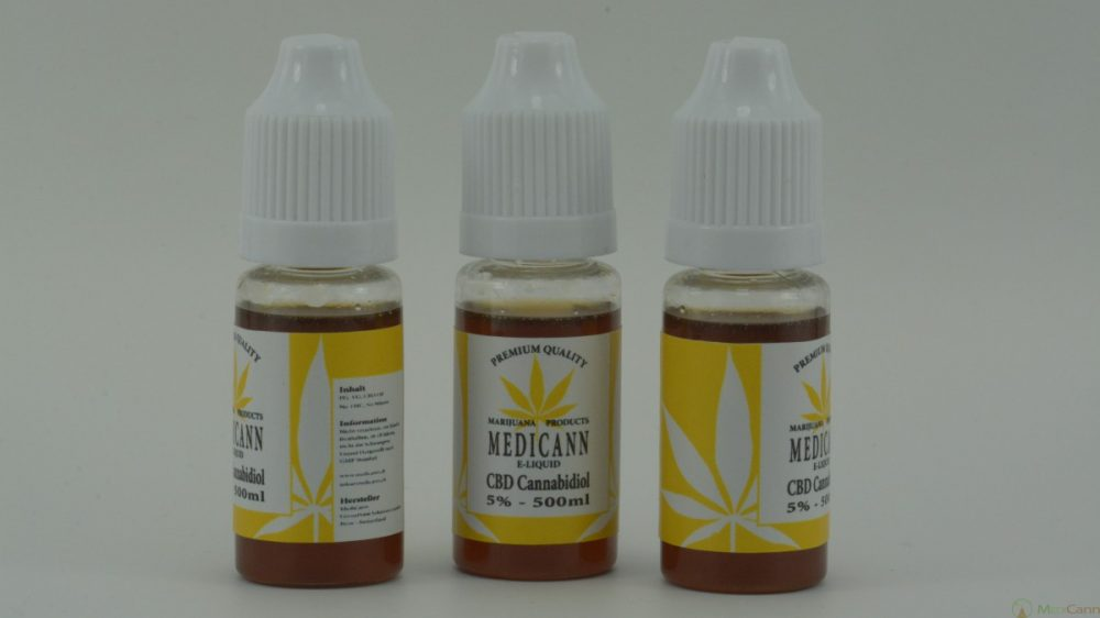 eliquid 5% cbd medicann gold